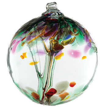 """Remembrance""- 2"" Tree of Enchantment Glass Ball"