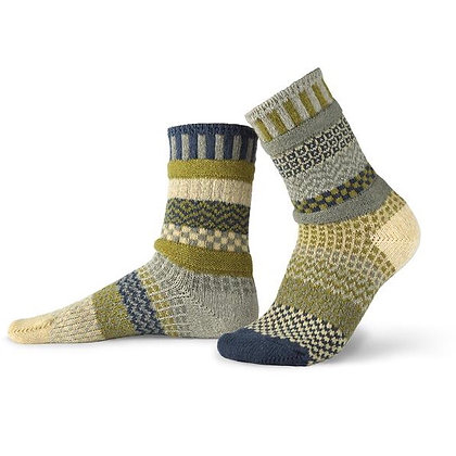 """Solmate"" socks, Size Med Sagebrush"