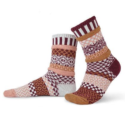 """""""Solmate"""" socks, Size Med Amarath"""