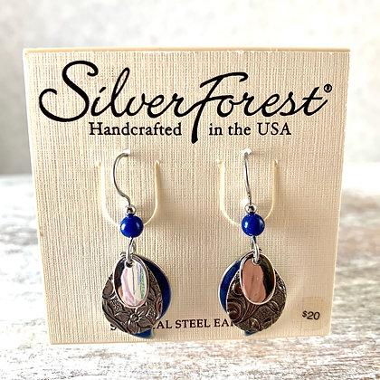 """""""Silver Forest"""" Earrings"""