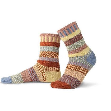 """""""Solmate"""" socks, Size Med Sandstone"""