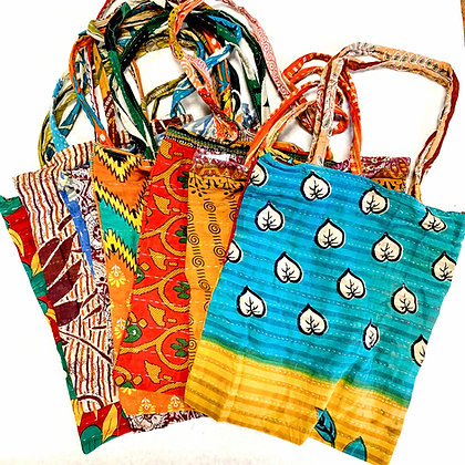 Recycled Kantha Tote Bags