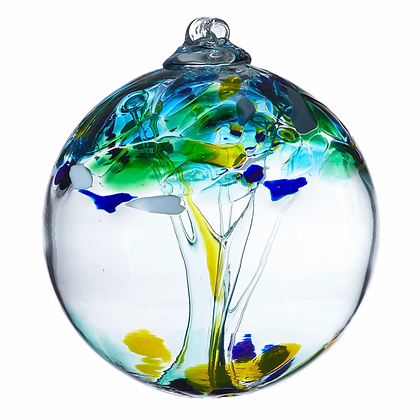 """Unity""- 2"" Tree of Enchantment Glass Ball"
