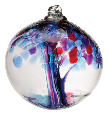 """""""Faith""""- 2"""" Tree of Enchantment Glass Ball/More coming in soon!"""