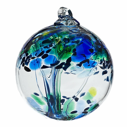 """Kindness""- 2"" Tree of Enchantment Glass Ball/More coming in soon!"