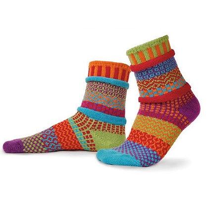 """Solmate"" socks, Size Med Cosmos"