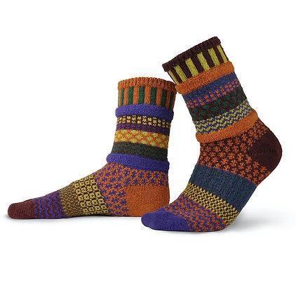 """Solmate"" socks, Size Med Fall Foliage"