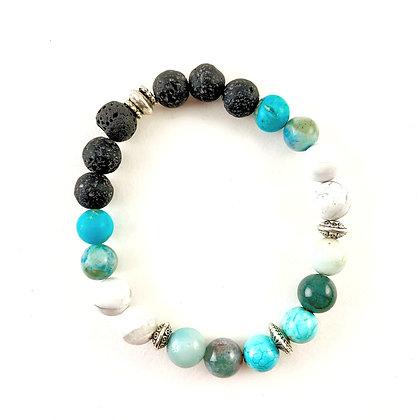 """Lava Energy Bead Bracelet"""