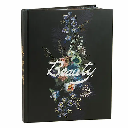 "Papaya ""Beauty"" Lined Journal"