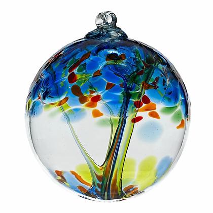 """Dreams""- 2"" Tree of Enchantment Glass Ball"