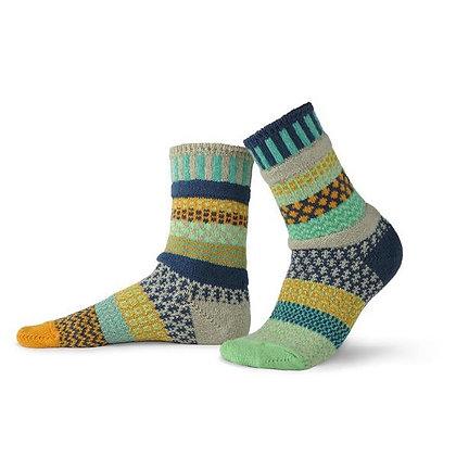 """""""Solmate"""" socks, Size Med Aloe"""