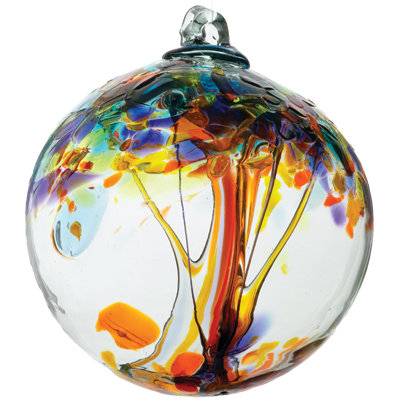 """Happiness""- 2"" Tree of Enchantment Glass Ball/More coming in soon!"