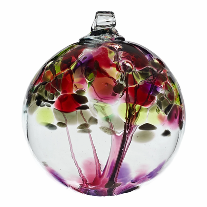 """Wishes""- 2"" Tree of Enchantment Glass Ball"