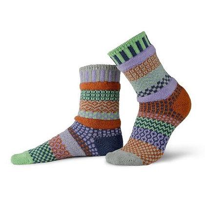 """Solmate"" socks, Size Med Juniper"