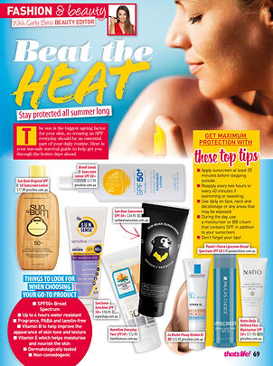 best sunscreen for sun protection
