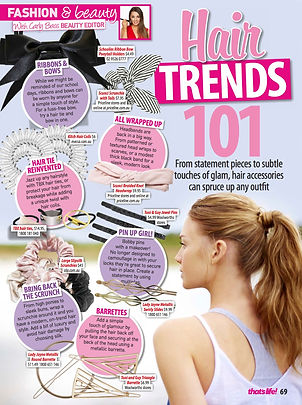 on trend hair accessories