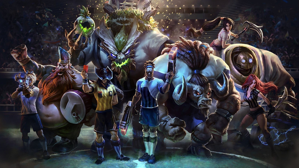 league of legends - best video game to play during quarantine