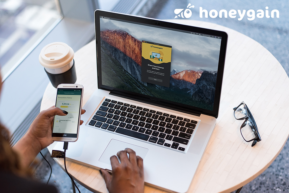 earn free Vbucks with Honeygain