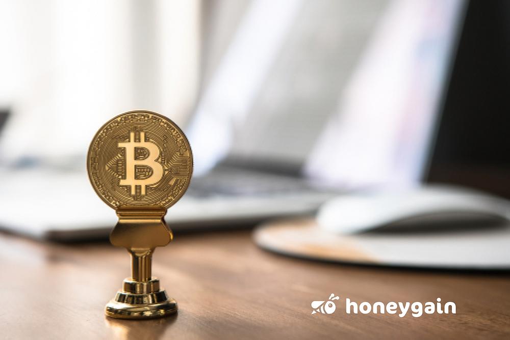 earn free bitcoins with honeygain