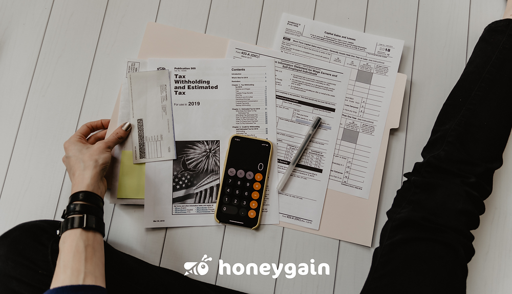 personal finance planning by Honeygain