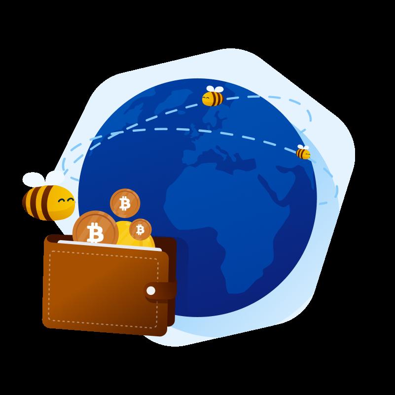 cryptocurrencies - bitcoin around the world