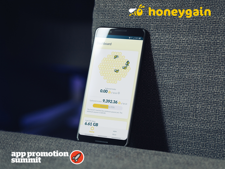 2020 App Growth Awards: Honeygain as Nominee