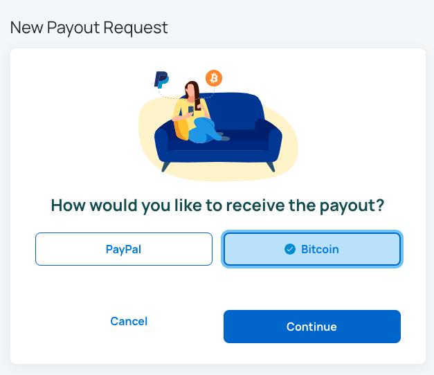 how to earn bitcoin by Honeygain