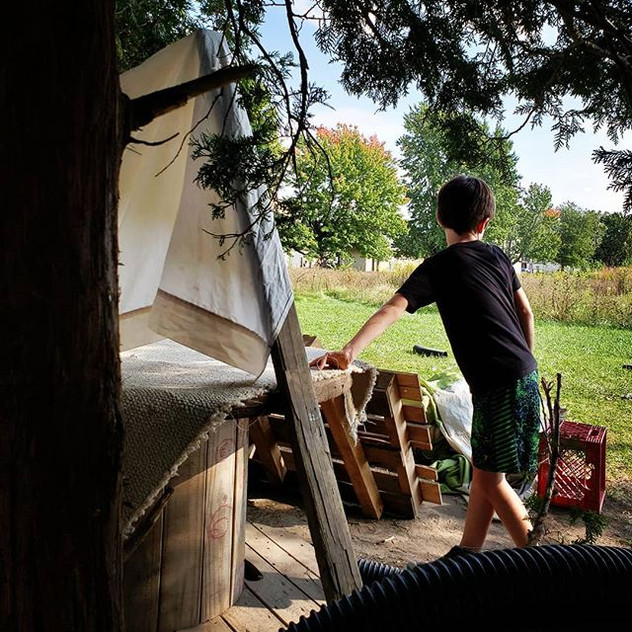 Forts + Fall_#AdventurePlay #AfterSchool
