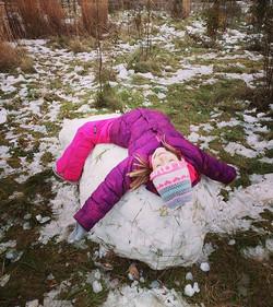 ❄A huge, gigantic snow ball ❄_#adventure