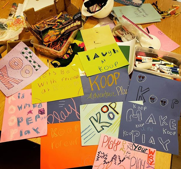 How did you #play as a kid__For KOOP's K
