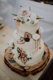 Květiny na dort