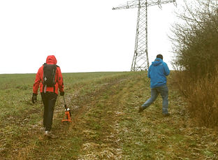 cable route GPS survey