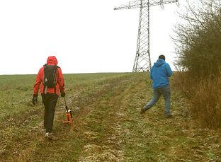 cable route GPS survey