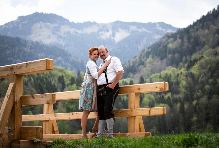 Pärchenshooting Fotograf chiemgau traunr