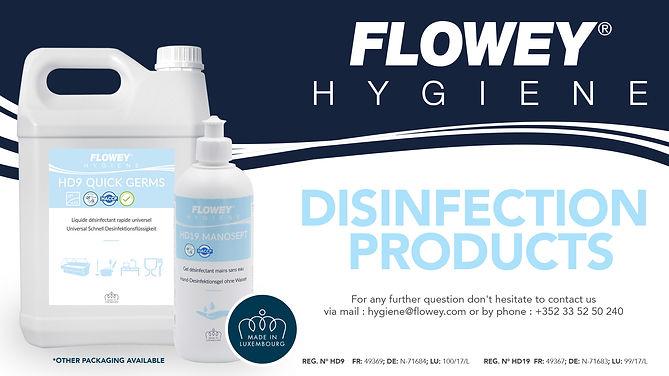 Bild Desinfektionsmittel HD9 und HD19 Ma