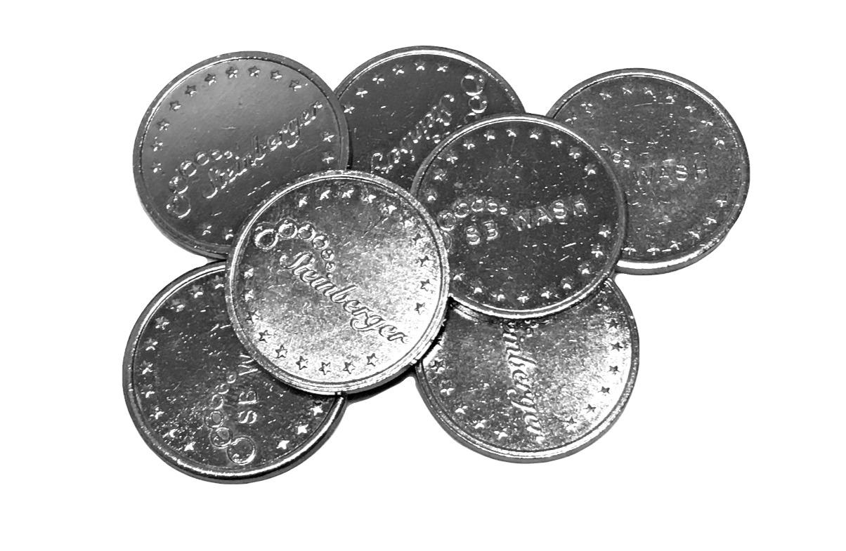 Wertmünzen für Eigenanlagen