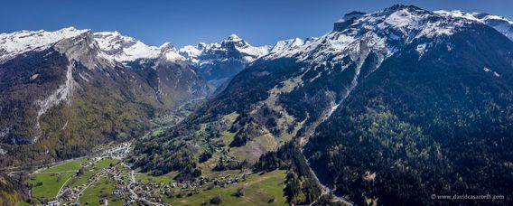 La vallée de Sixt-Fer-à-Cheval.