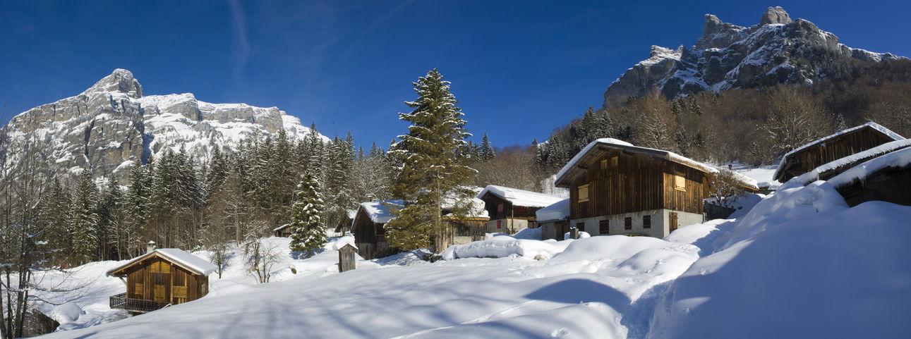 Le Frenalay en hiver