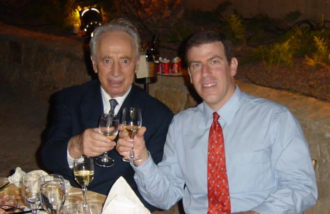 Gilad Adin - President Peres.jpg