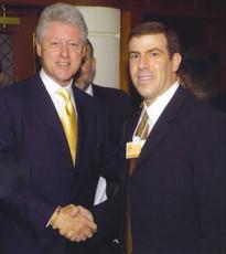 Gilad Adin - President Clinton גלעד עדין עם קלינטון