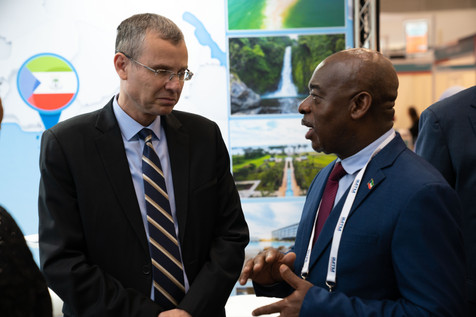 Tourism Minister of Israel with Equatorial Guinean Consulate in Israel and  Secretary of State in Charge of Tourism Equatorial Guinea