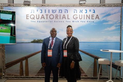 embajada de guinea ecuatorial en israel  Equatorial Guinean Consulate in Tel Aviv  Equatorial Guinean Consulate in israel luciano ncogo ndong ayecaba Catalina Martinez Asumu Secretaria de Estado Encargada de Turismo De la Republica de Guinea Ecuatorial