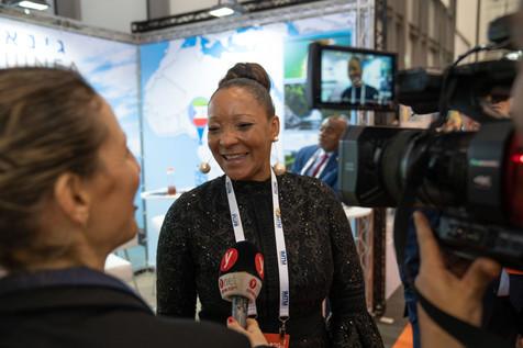 Catalina Martinez Asumu Secretaria de Estado Encargada de Turismo De la Republica de Guinea Ecuatorial