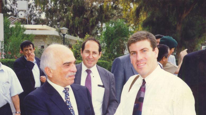 Gilad Adin - King Hussein 1995.jpg