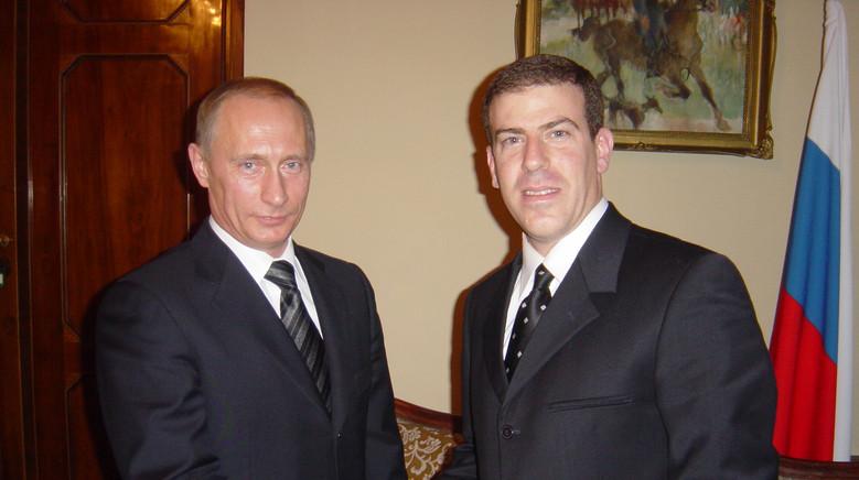 Gilad Adin with Putin