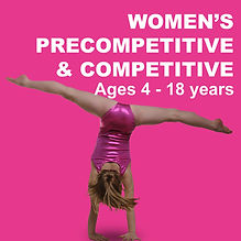 Women's precompetitive & Competitive Programs