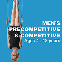 Men's precompetitive & Competitive Programs