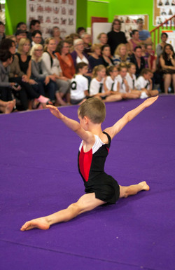 Boys floor routine