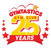 Gymtastic 25 year logo