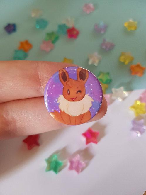 Eevee / Eeveelution / Pin Badge / Button / Geek